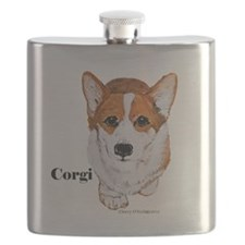 Corgi Flask