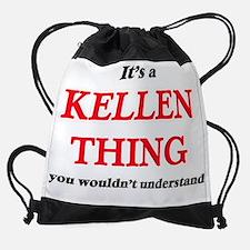 Funny Kellen Drawstring Bag
