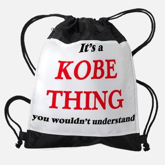 It's a Kobe thing, you wouldn&# Drawstring Bag