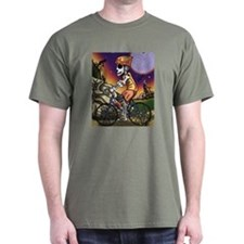Day of the Dead Bicycle T-Shirt