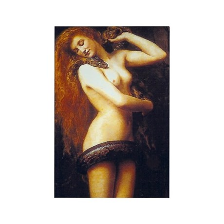 Lilith Rectangle Magnet