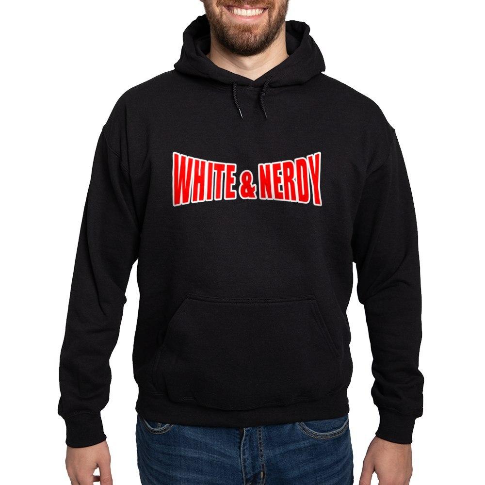 White-Nerdy Hoodie CafePress Pullover Hoodie