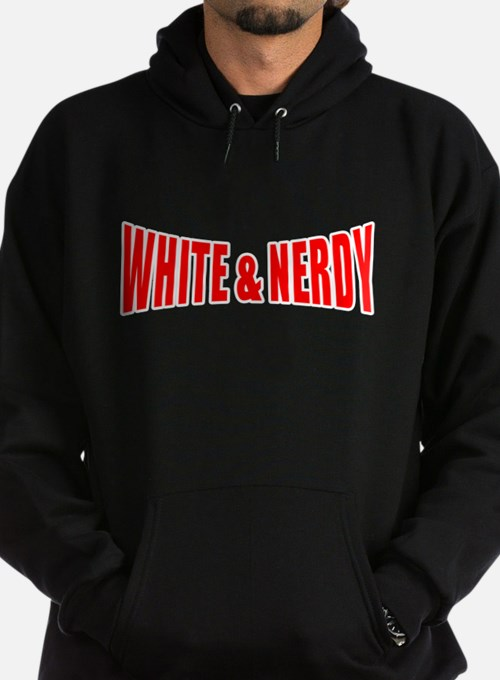 white-nerdy.png Hoodie