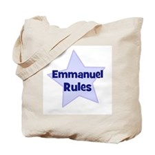 Emmanuel Rules Tote Bag