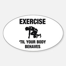 TOP Exercise Cross Train Decal