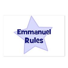 Emmanuel Rules Postcards (Package of 8)