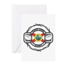 Florida Rugby Greeting Cards (Pk of 10)