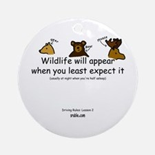 Wildlife Ornament (Round)
