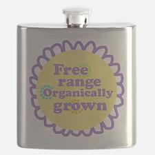 Free Range Organically Grown Flask