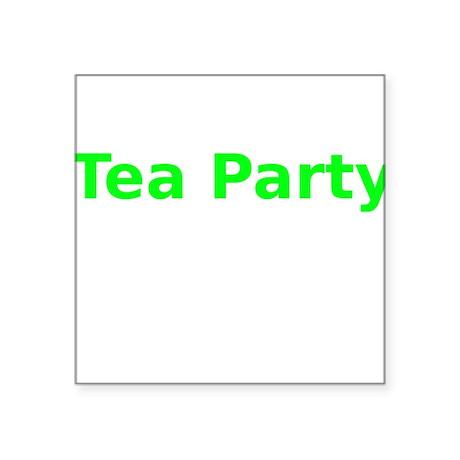 Tea Party Sticker