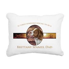Brittany Dad Rectangular Canvas Pillow