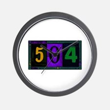 NOLA 504 Wall Clock