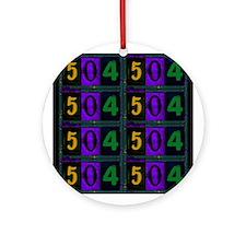 NOLA 504 Ornament (Round)