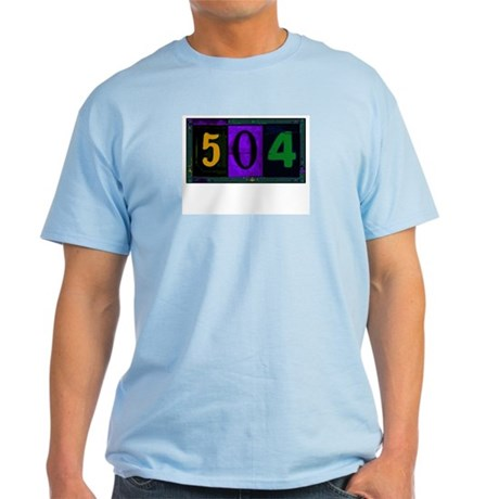 NOLA 504 Ash Grey T-Shirt