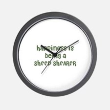 Happiness is being a SHEEP SH Wall Clock