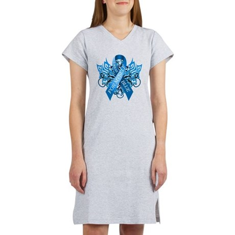 I Wear Blue for Myself Women's Nightshirt