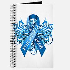 I Wear Blue for Myself Journal