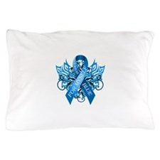 I Wear Blue for Myself Pillow Case