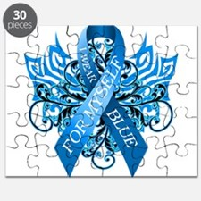 I Wear Blue for Myself Puzzle