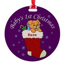 Babys 1st Christmas Ornament