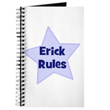 Erick Rules Journal
