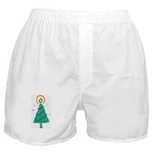 Pinked Tree Boxer Shorts