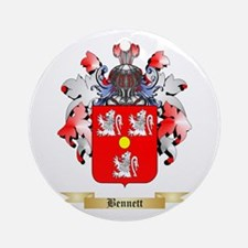 Bennett English Ornament (Round)