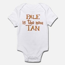 """""""Pale is the new tan"""" Infant Bodysuit"""