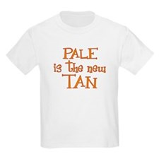 """""""Pale is the new tan"""" Kids T-Shirt"""