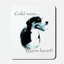 Swissy Warm Heart Mousepad