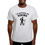 Id rather be hiking Light T-Shirt
