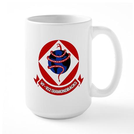 VF-102 DIAMONDBACKS Large Mug