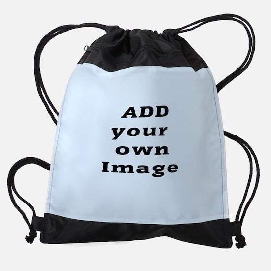 Add Image Drawstring Bag