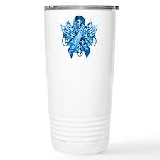 I Wear Blue for my Sister Travel Mug