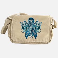 I Wear Blue for my Niece Messenger Bag