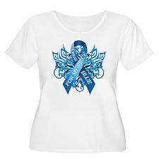 I Wear Blue for my Niece Plus Size T-Shirt