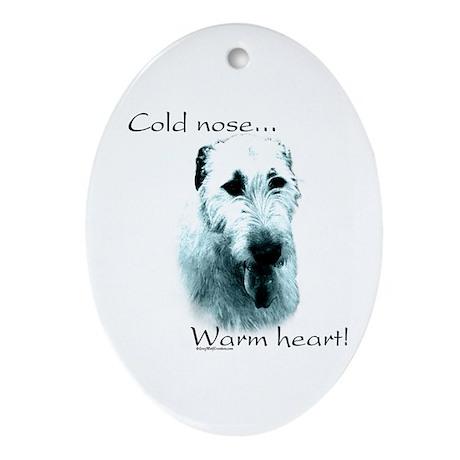 IW Warm Heart Oval Ornament