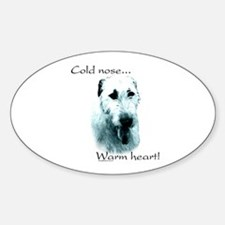 IW Warm Heart Oval Decal