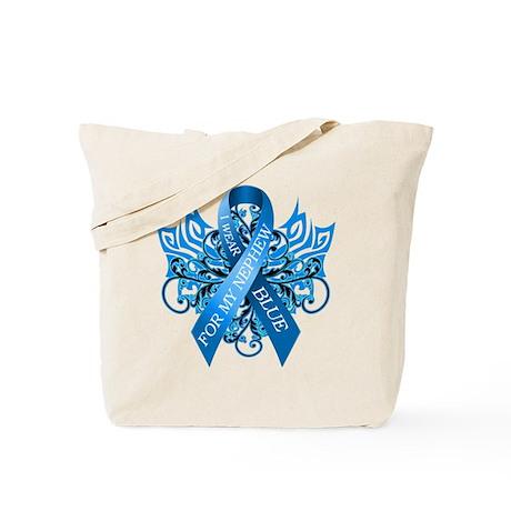I Wear Blue for my Nephew Tote Bag