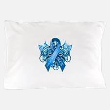 I Wear Blue for my Mother in Law Pillow Case