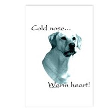 Lab Warm Heart Postcards (Package of 8)