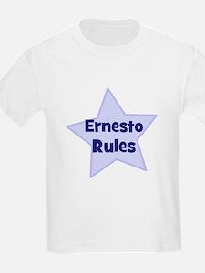 Ernesto Rules Kids T-Shirt