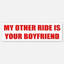 My Other Ride Is... Bumper Bumper Bumper Sticker