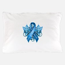 I Wear Blue for my Husband Pillow Case