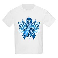 I Wear Blue for my Husband T-Shirt