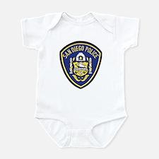 San Diego Police Infant Bodysuit