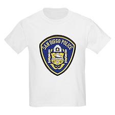 San Diego Police Kids T-Shirt