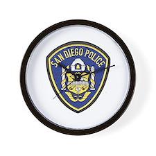 San Diego Police Wall Clock