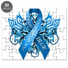I Wear Blue for my Grandson Puzzle