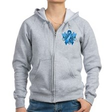 I Wear Blue for my Grandson Zip Hoodie